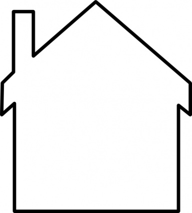 383x425 Inside House Clipart Black And White Clipart Panda