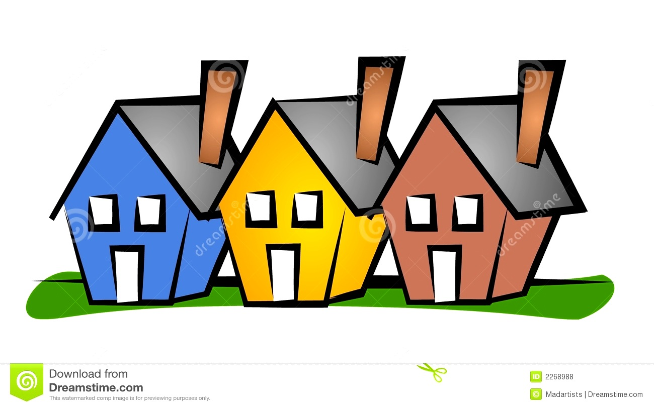 1300x812 Apartments Knockout Row Houses Clip Art House Royalty Stock