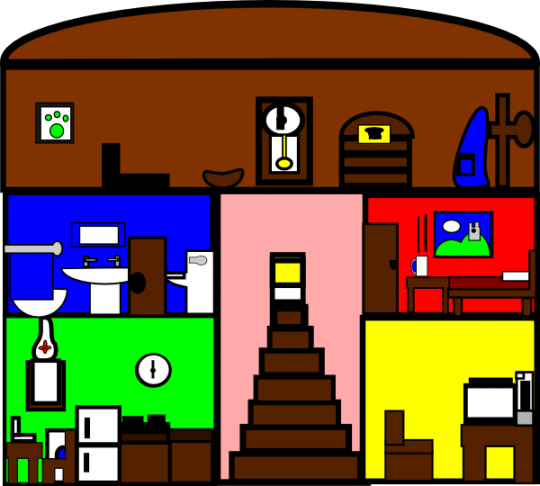 540x486 Building Clipart Inside House Clipart Gallery ~ Free Clipart Images