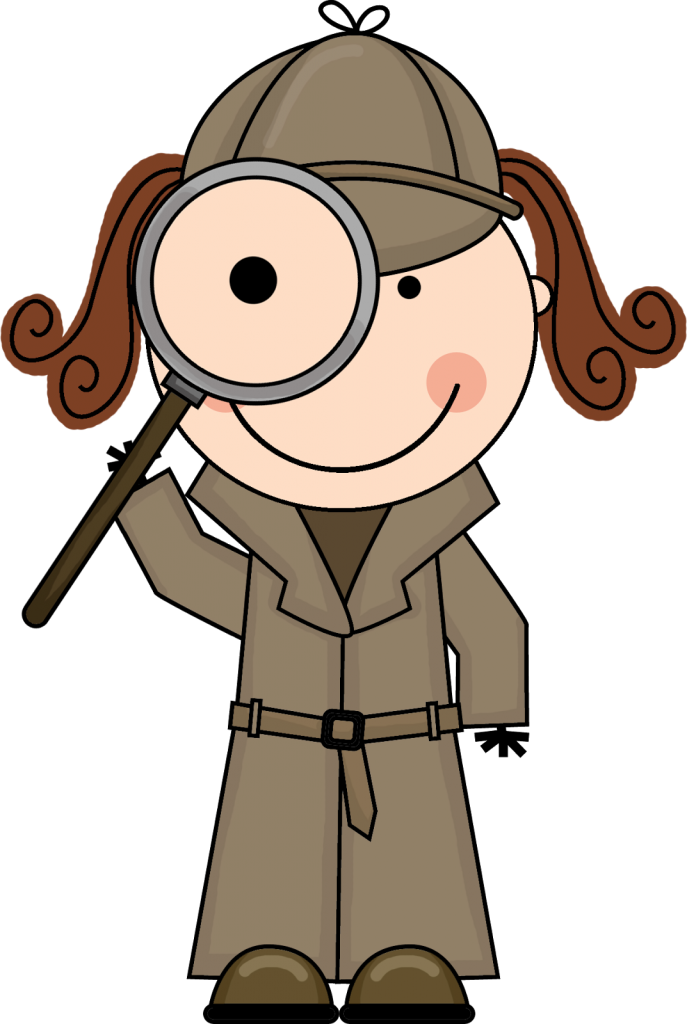 687x1024 Clipart And Magnifying Glass Detective