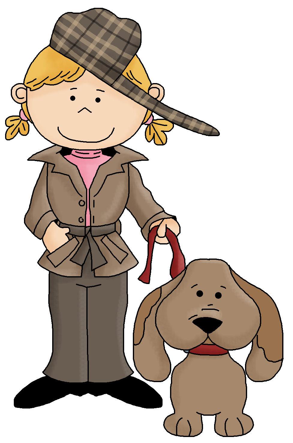 977x1477 Kid Detective Clipart Free Images 2