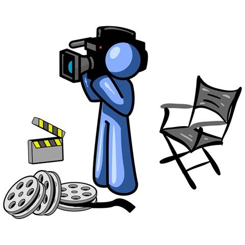 480x480 Video Camera Clip Art