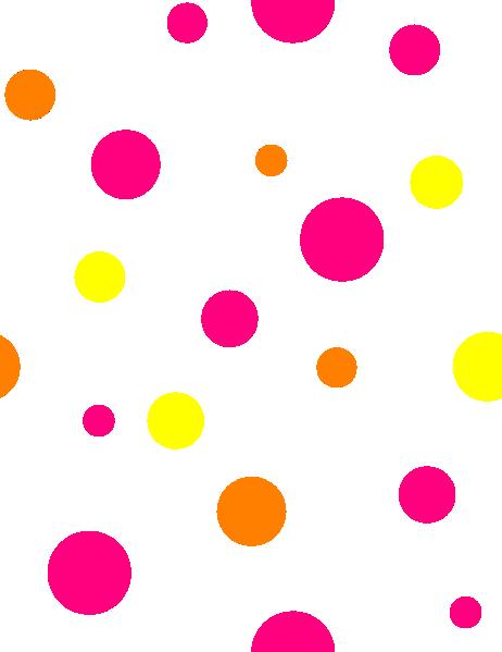 462x599 Polka Dot Background Clipart