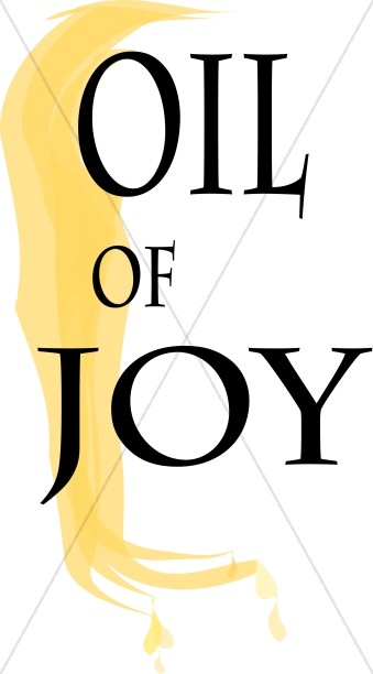 339x612 Oil Of Joy Clipart Inspirational Word Art