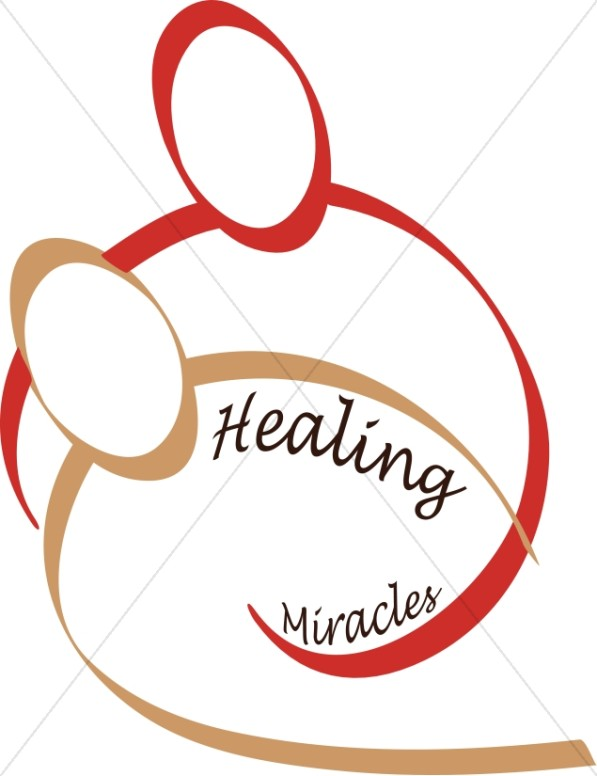 597x776 Christian Healing And Miracles Inspirational Word Art