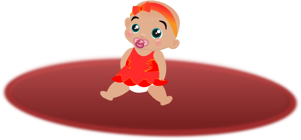 600x279 Baby On Floor Clip Art