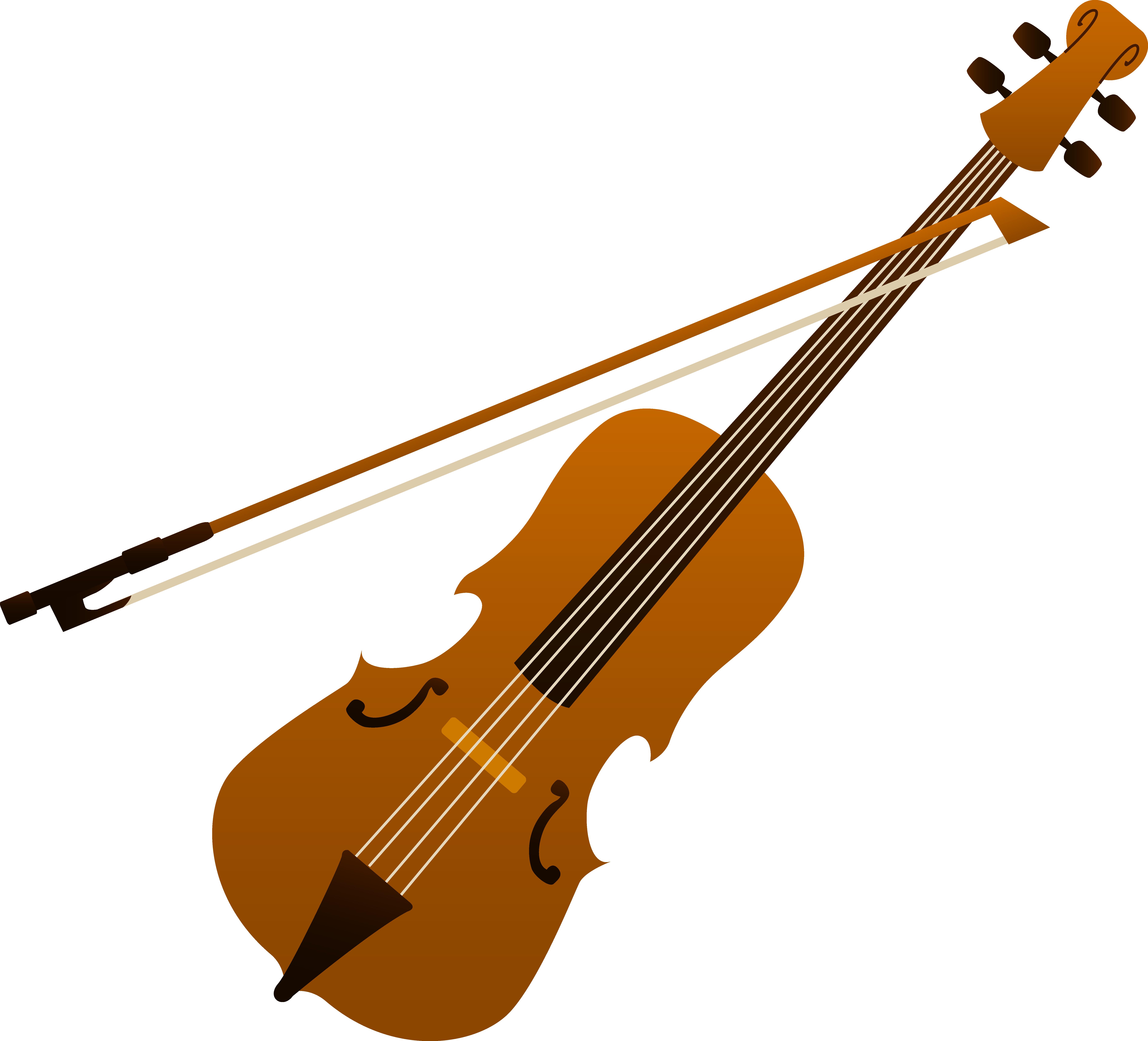 7369x6681 Elegant Violin Design