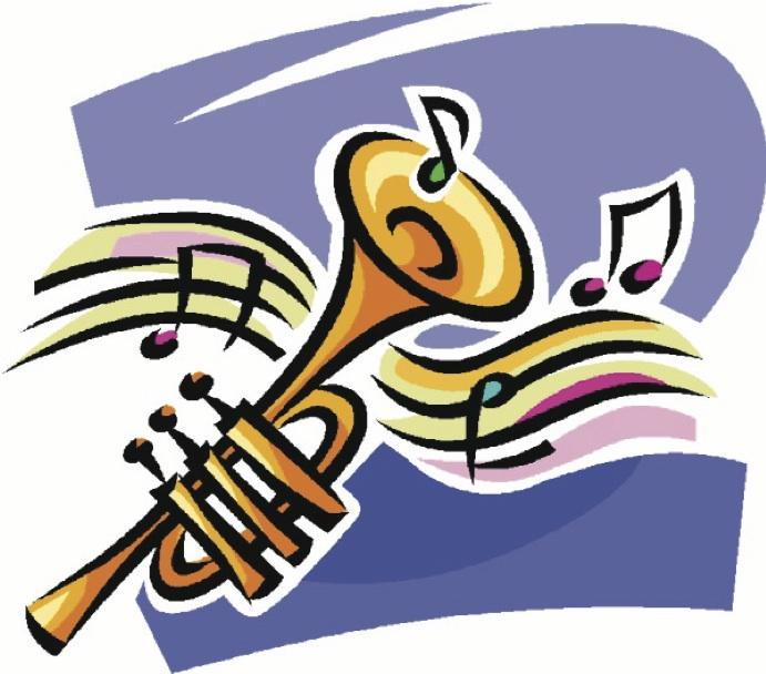 691x608 Free Big Band Musical Instrument Clipart