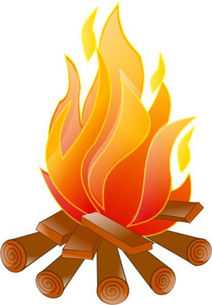 414x596 Image Of Campfire Clip Art