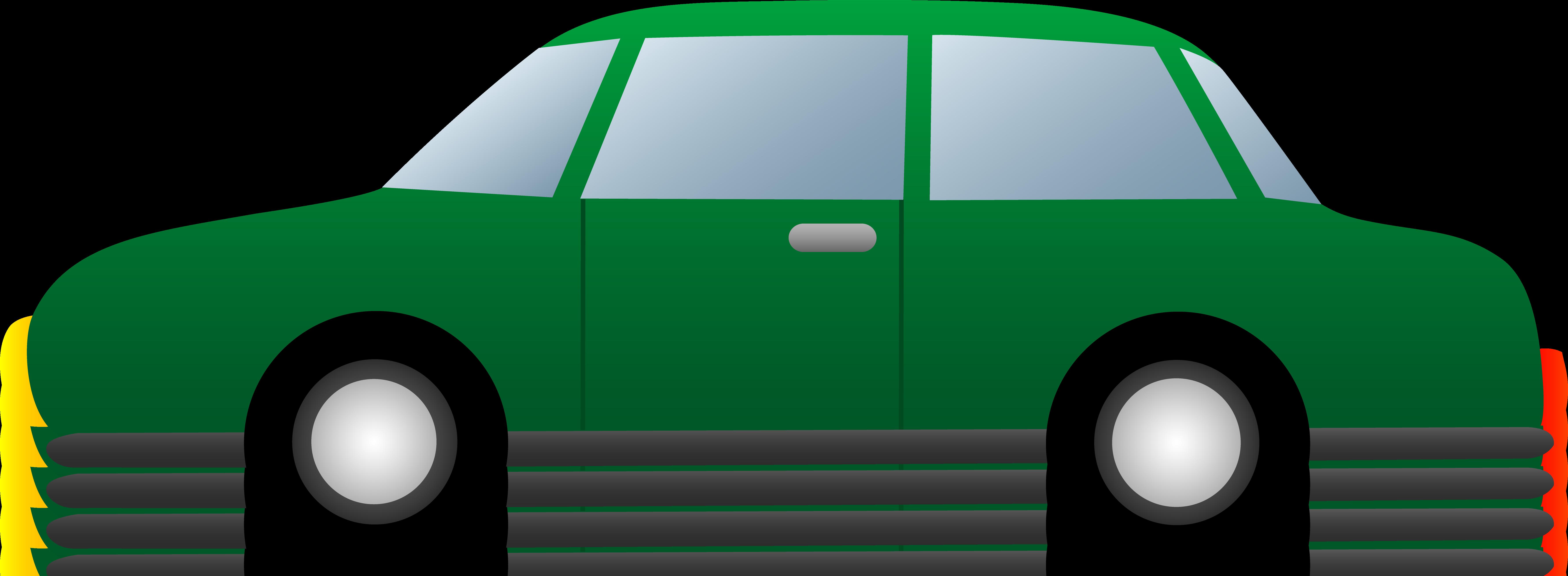 7122x2615 Simple Green Car