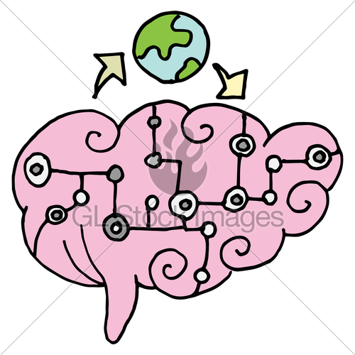 500x500 Artificial Intelligence Brain Gl Stock Images