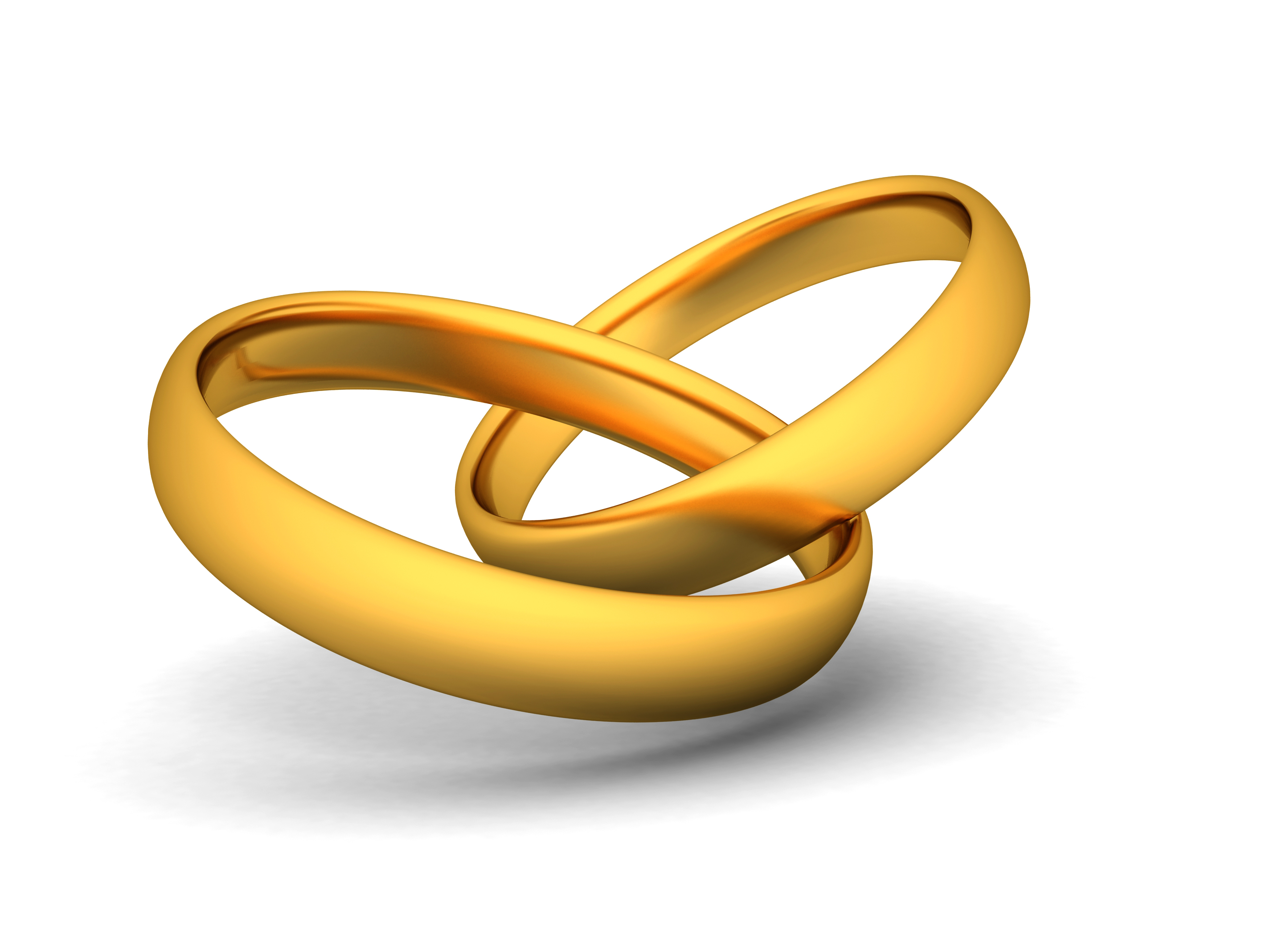 3500x2625 Simple Wedding Bands Clipart