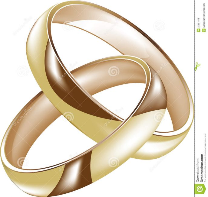 687x652 Wedding Rings Cost Of Combining Two Rings Intertwined Engagement