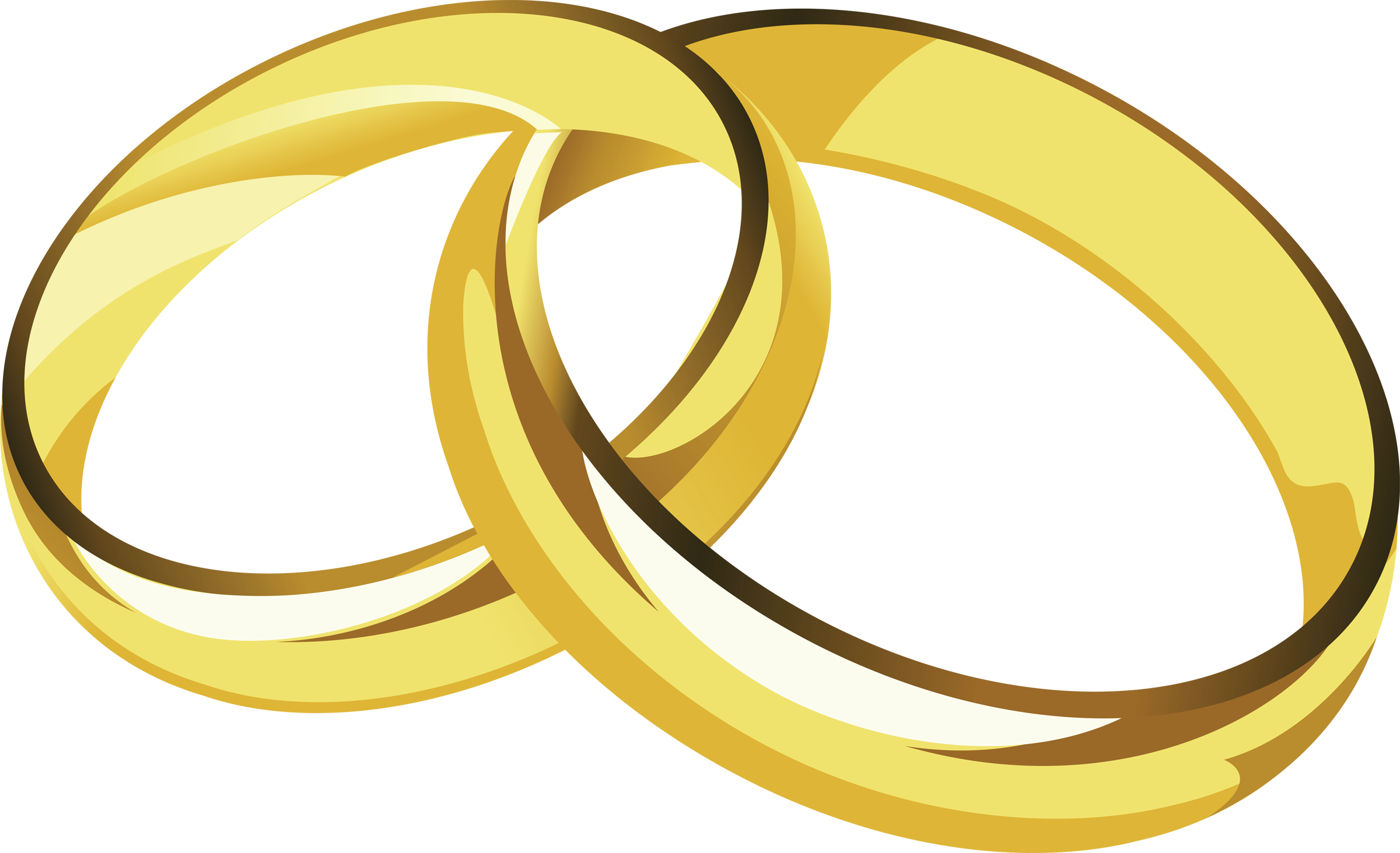 2400x1463 Wedding Rings Clipart Clipartfest 2