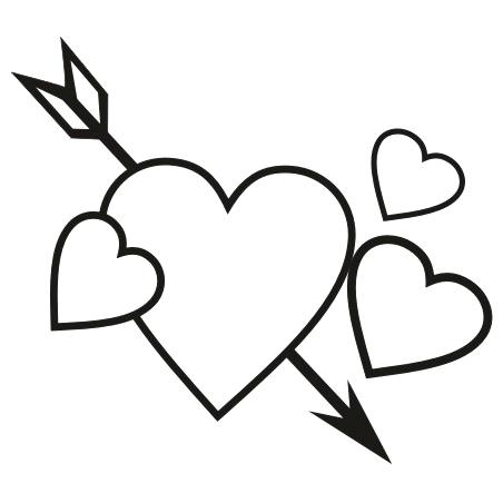 452x452 Clipart Heart Heart Border Black And White For Heart Border Black