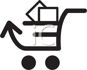 350x283 Internet Mail Shopping Cart