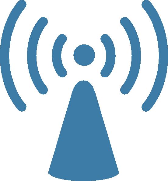552x595 Wireless Internet Clipart