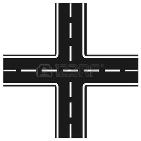 450x450 Road Clipart Road Junction