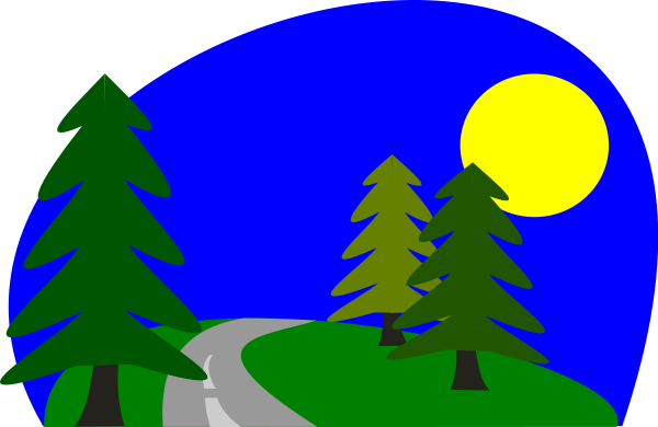 600x390 Tsd Left Road Curve Intersection Png Clip Arts For Web