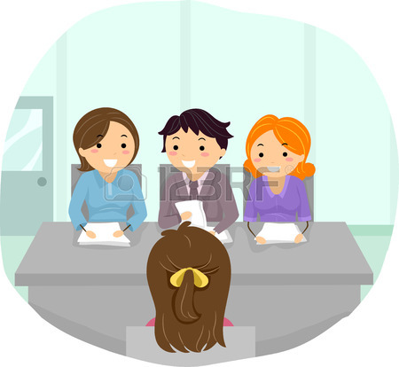 450x414 13,878 Job Interviewing Stock Vector Illustration And Royalty Free