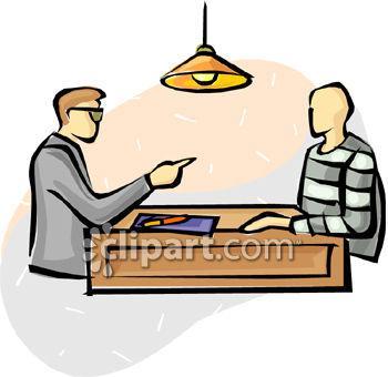 350x340 Police Interrogation Clip Art