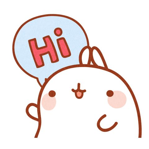 480x480 Hello! Clipart Introduce Yourself
