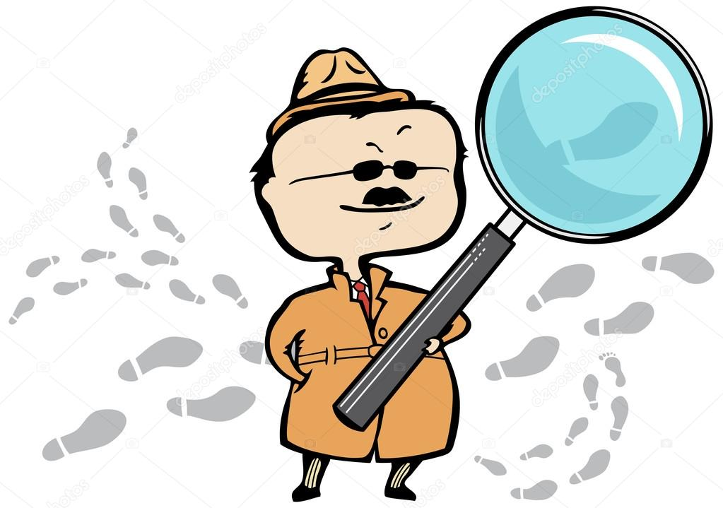 1023x719 Detective Or Private Investigator With A Magnifying Glass