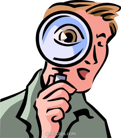 421x480 Investigation And Research Royalty Free Vector Clip Art