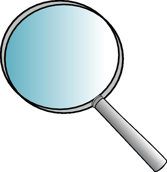 582x598 Big Magnifying Glass Clip Art