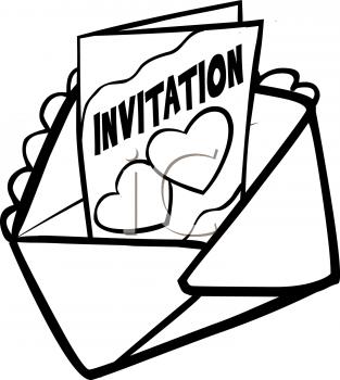313x350 Invitation Cliparts