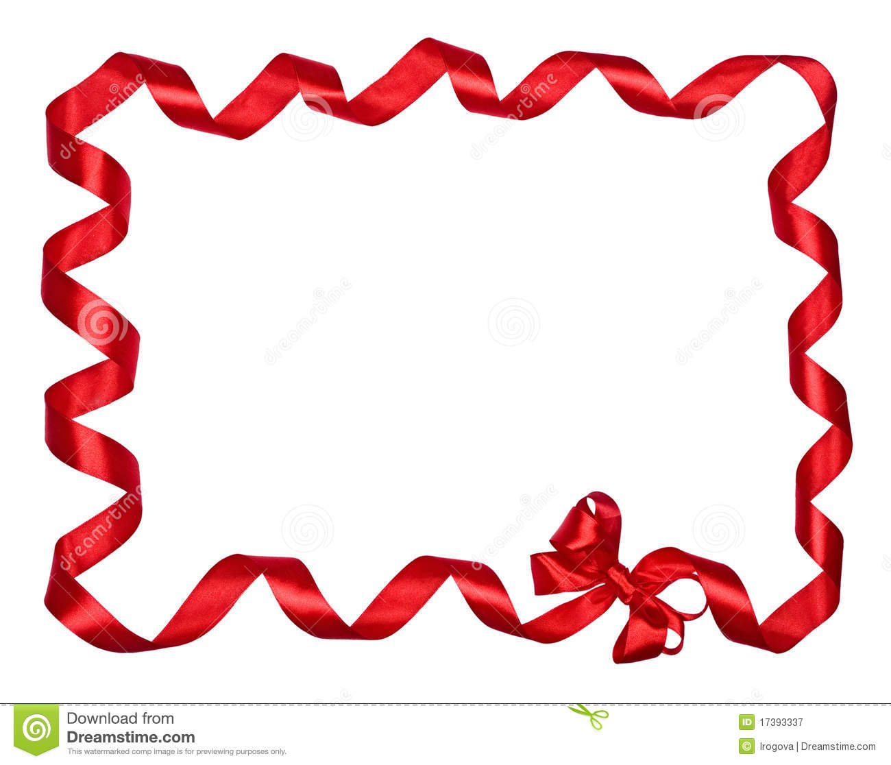 1300x1116 Ribbon Border Clip Art