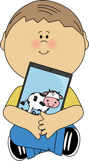 Ipad kid. Clipart free download best