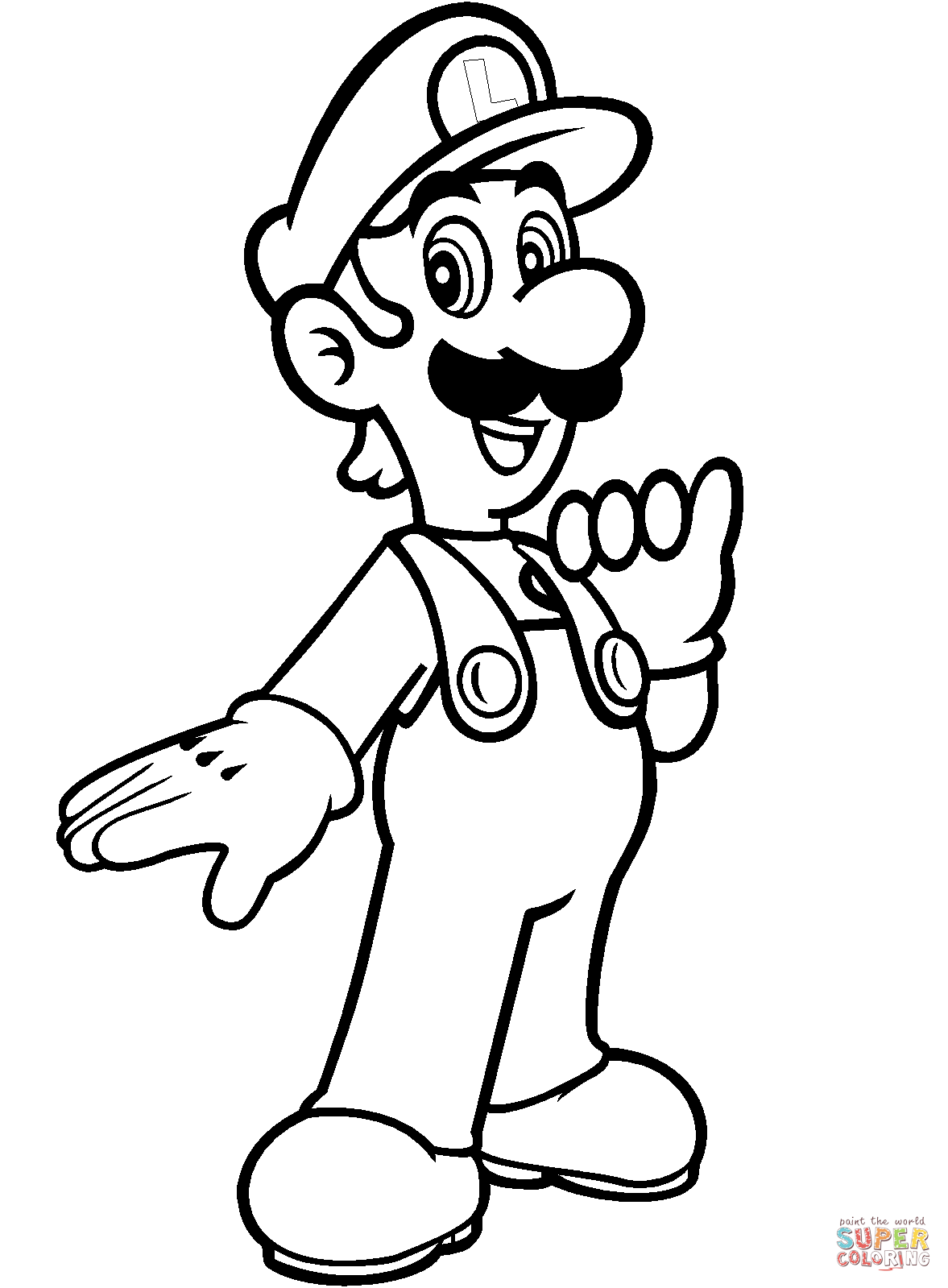 1177x1599 Super Mario Luigi Coloring Pages Super Mario Luigi Coloring