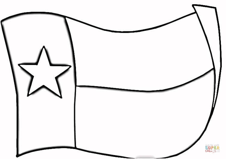 750x526 Amazing Texas Flag Coloring Page 56 With Additional Pages