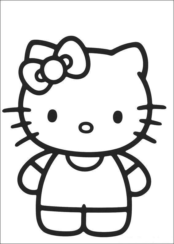 567x794 Best Hello Kitty Coloring Ideas Hello Kitty