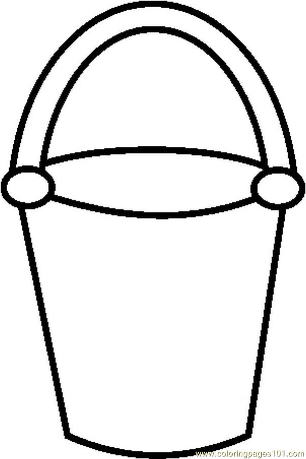 601x900 Bucket Filling Coloring Pages 554159