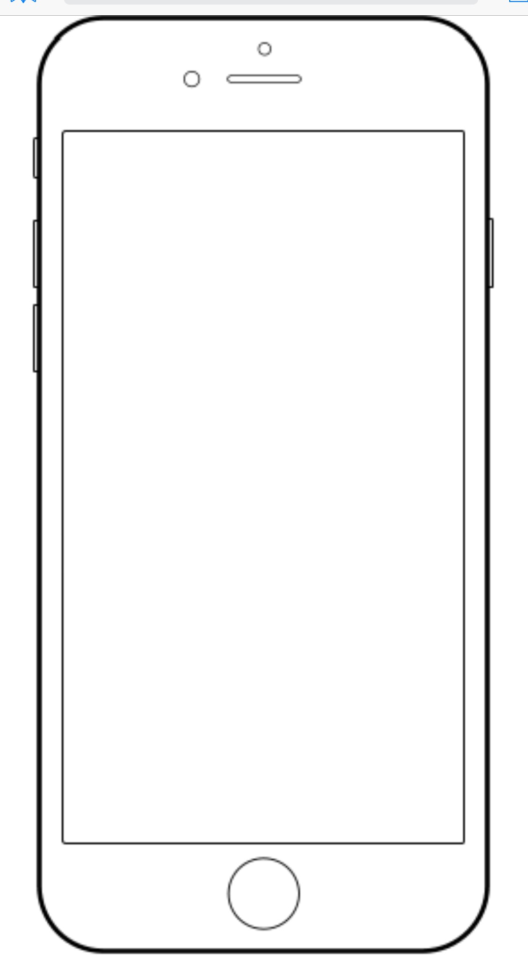 Iphone 7 Coloring Pages | Free download on ClipArtMag