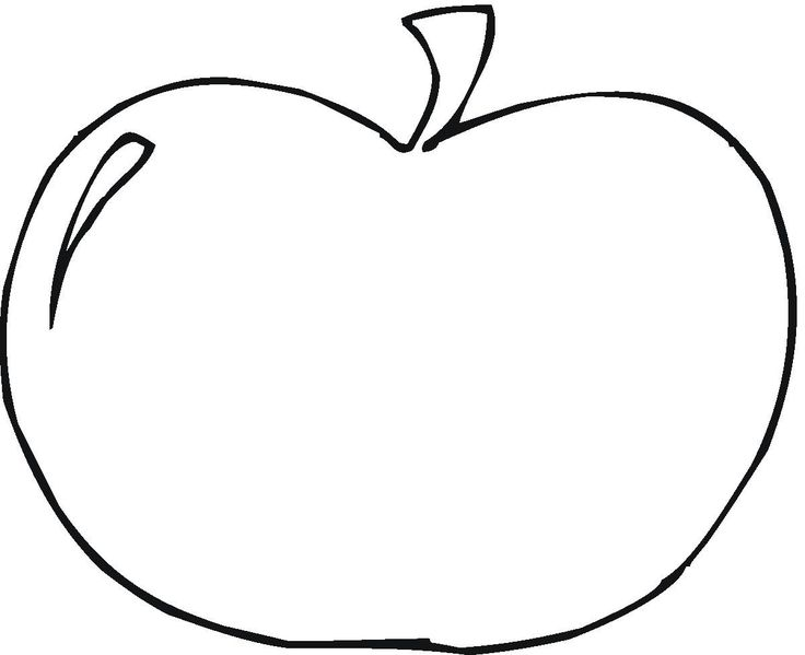 736x599 Best Apple Coloring Pages Ideas Apple Coloring