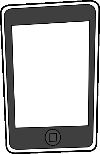 384x592 Iphone Clipart 2179539