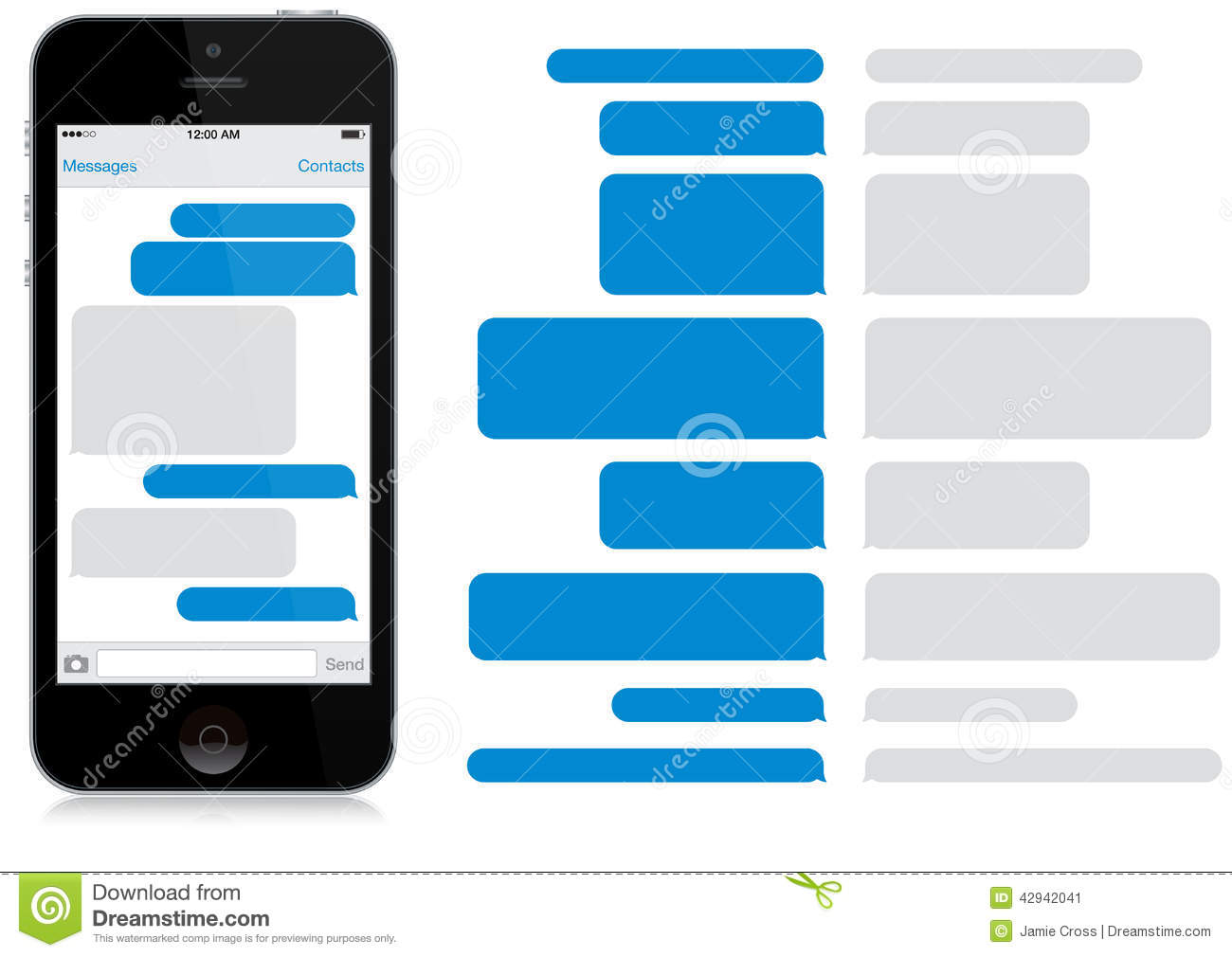 List Of Synonyms And Antonyms Of The Word Iphone Text Bubble