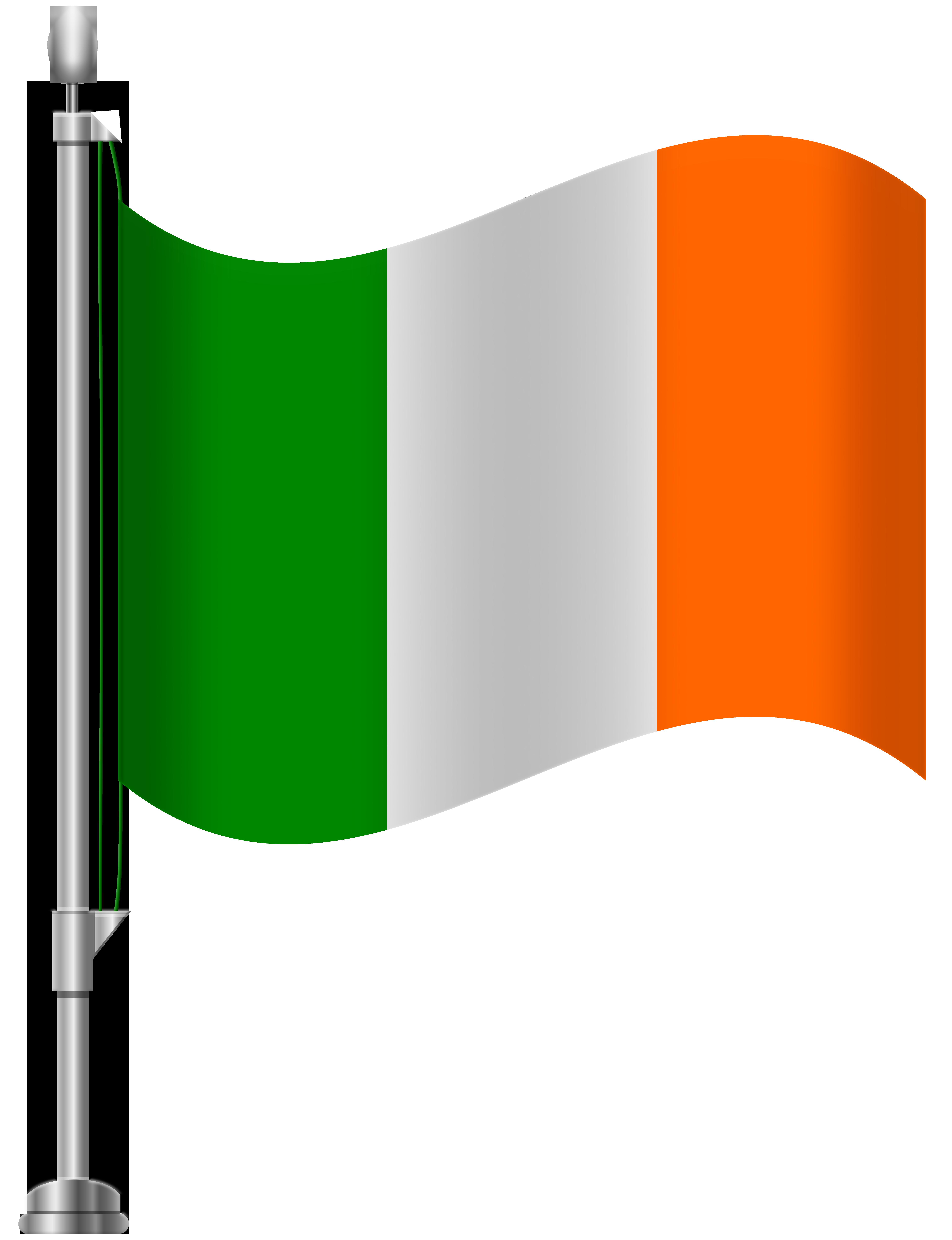 6141x8000 Ireland Flag Png Clip Art