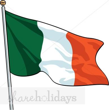 385x388 Ireland Clipart Irish Flag