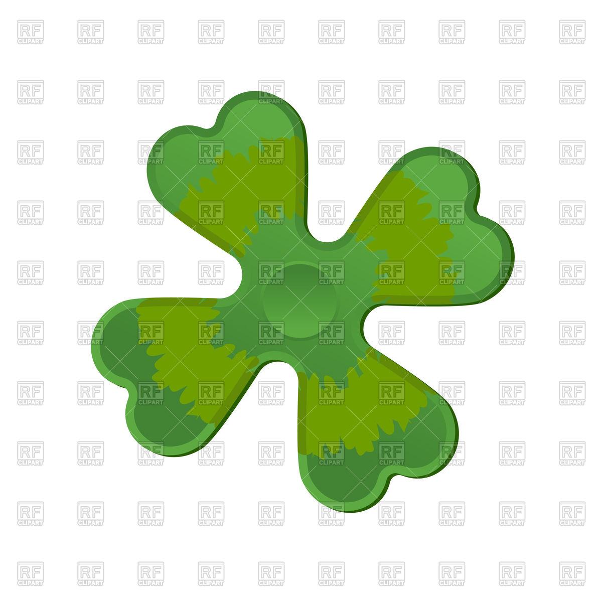 1200x1200 Irish Spinner Clover Shamrock. Hand Toy For Ireland. Green Clover