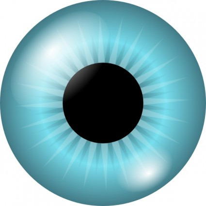 425x425 Iris And Pupil Clip Art Download