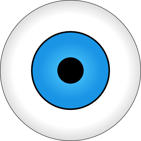 600x600 Tonlima Olho Azul Blue Eye Clip Art