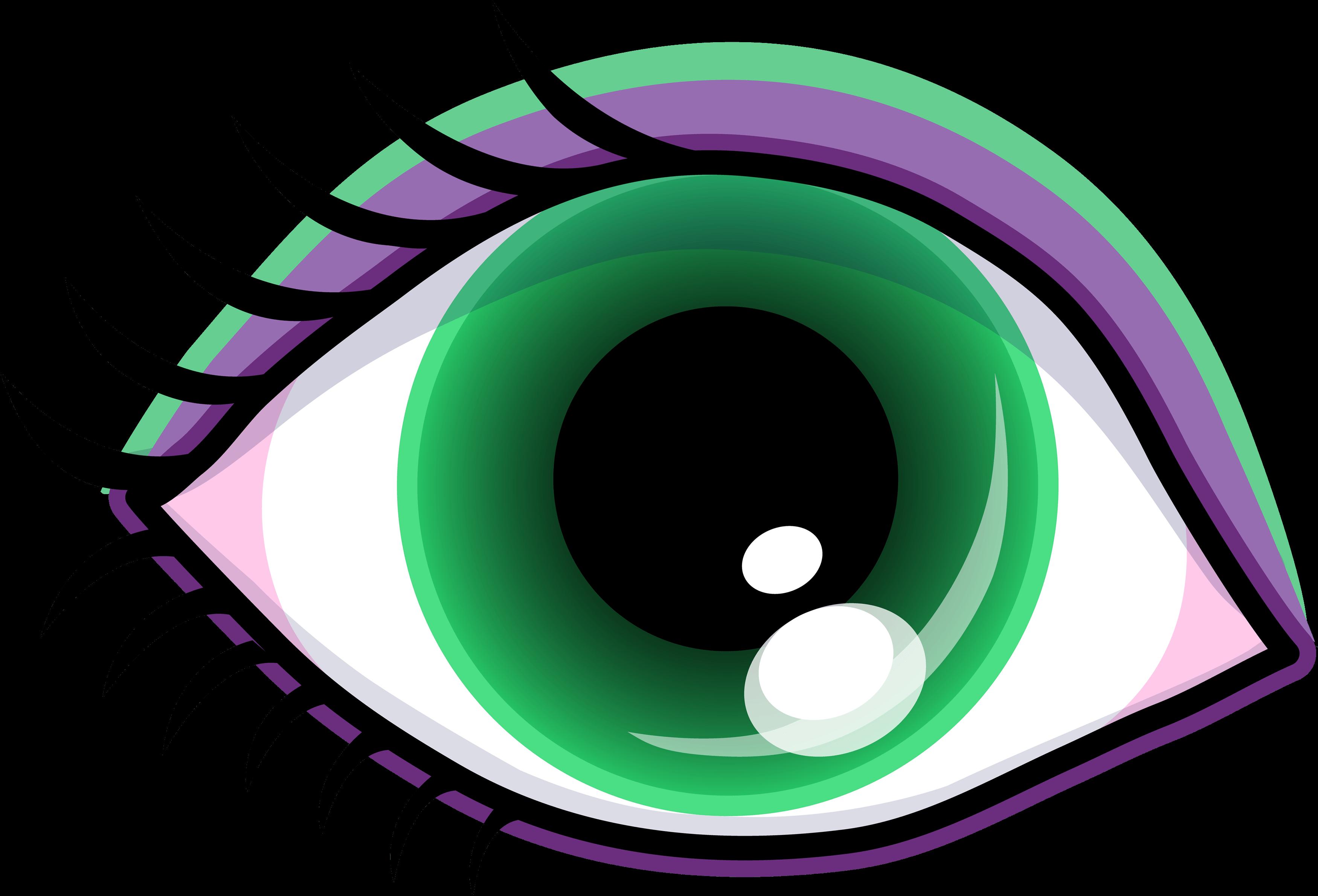 3500x2379 Eye Reading Cliparts 206971