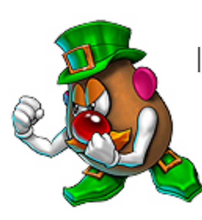 681x740 Fighting Irish Mr. Potato Head Cartoonsanimation