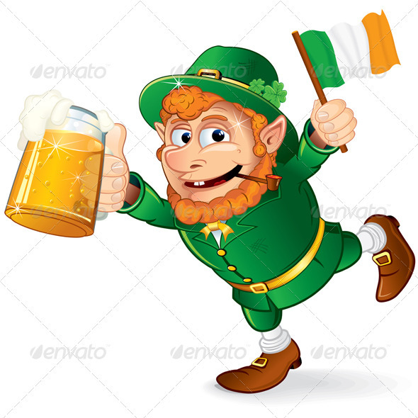 590x590 Irish Leprechaun By Pilart Graphicriver