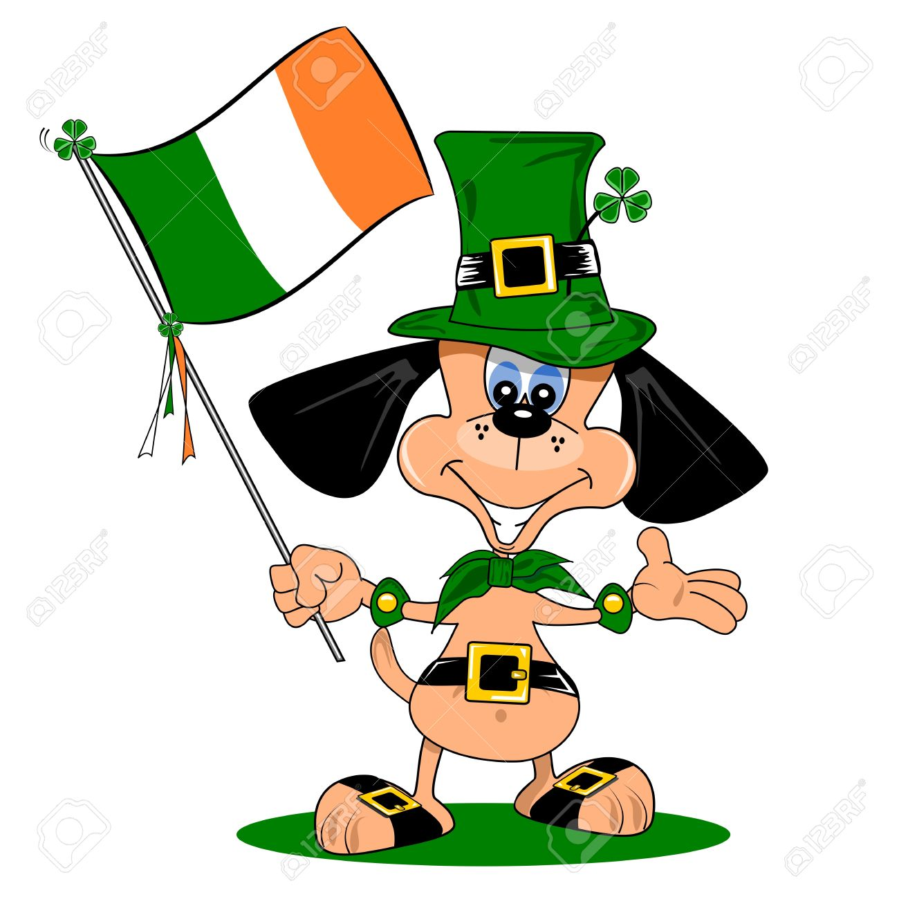 1300x1300 Irish Clipart Cartoon