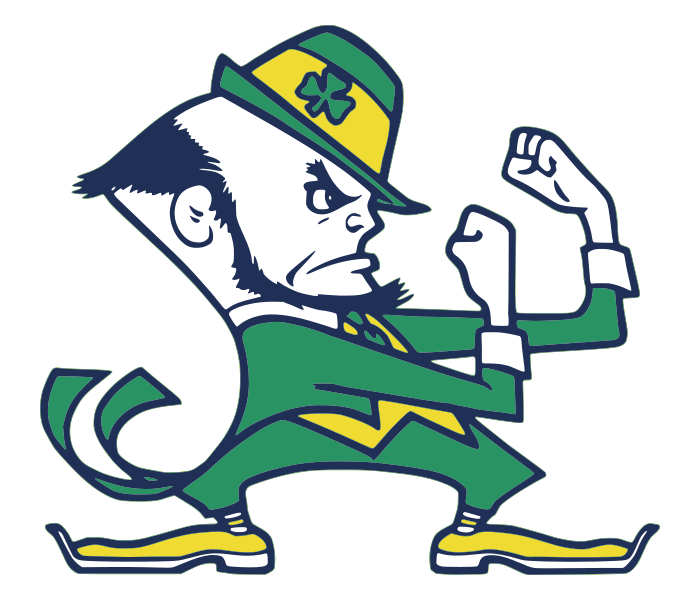 700x600 Notre Dames Fighting Irish Mascot